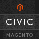 Civic - SUPER Flexible Responsive Magento Theme - ThemeForest Item for Sale