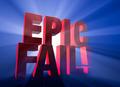 Dramatic, Epic Fail - PhotoDune Item for Sale