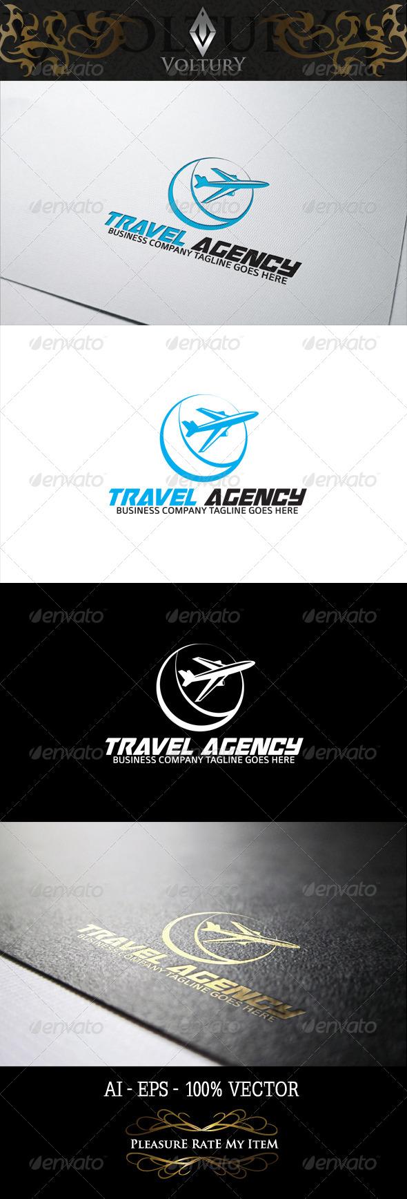 GraphicRiver Travel Agency Logo 8243182