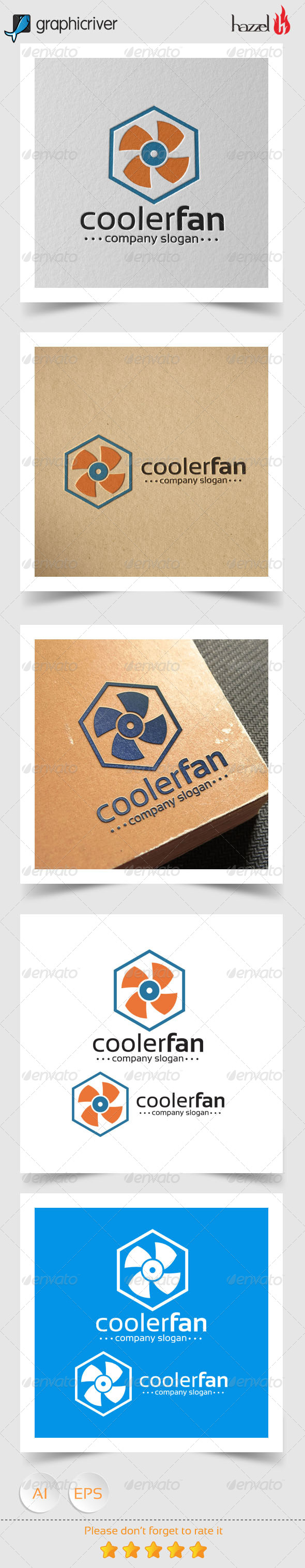 GraphicRiver Cooler Fan Logo 8243347