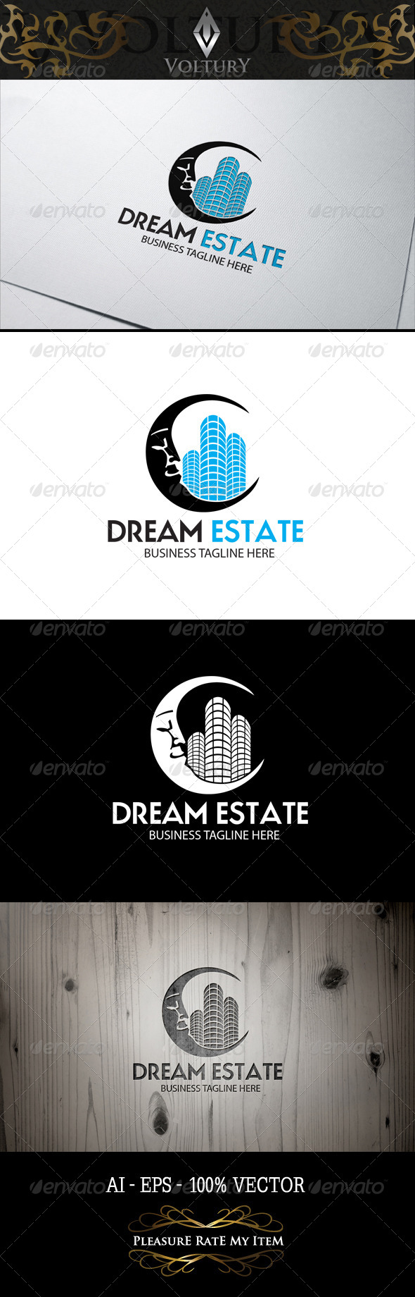 GraphicRiver Dream Estate Logo 8243375