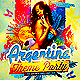 Argentina Themed Party Flyer Template  - GraphicRiver Item for Sale