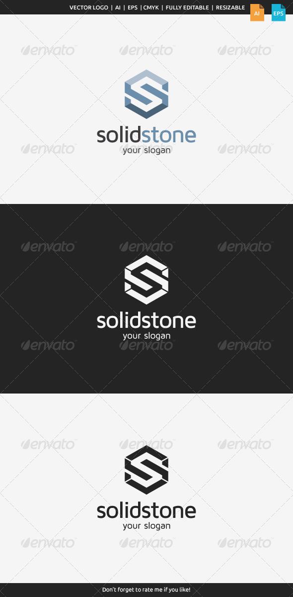 GraphicRiver Solid Stone S Logo 8245509