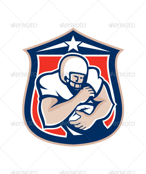 American Footballer Shield