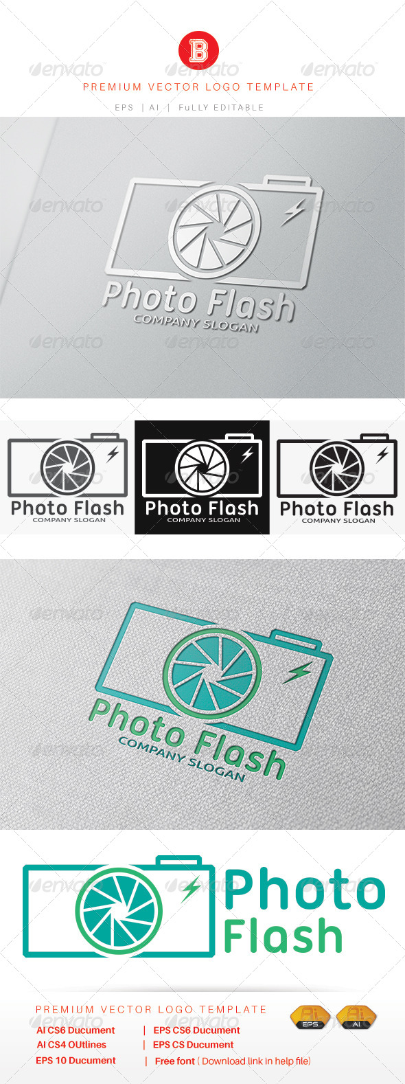 GraphicRiver Photo Flash 8245576