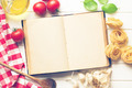 blank recipe book and fresh ingredients - PhotoDune Item for Sale
