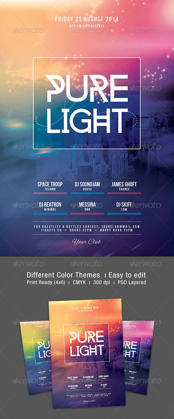 GraphicRiver Pure Light Flyer 8245931