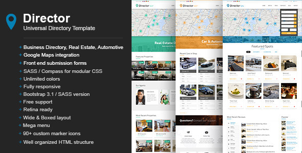 Director - Universal Directory Template - Business Corporate