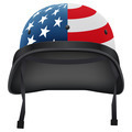 Military American helmet. Isolated on white background. Bitmap copy. - PhotoDune Item for Sale