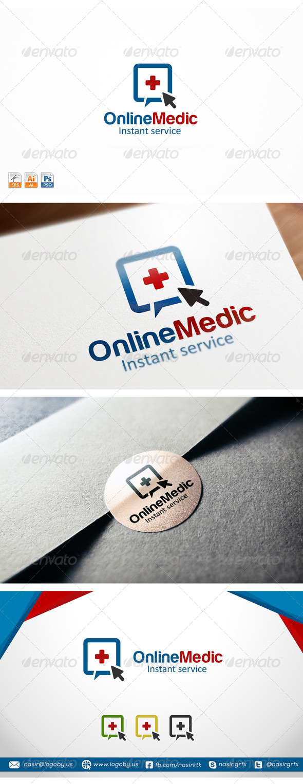 GraphicRiver Online Medic 8247261