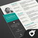 Resume - One page - GraphicRiver Item for Sale
