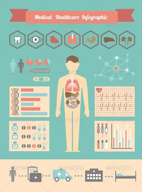 GraphicRiver Medical Healthcare Infographic 8247846