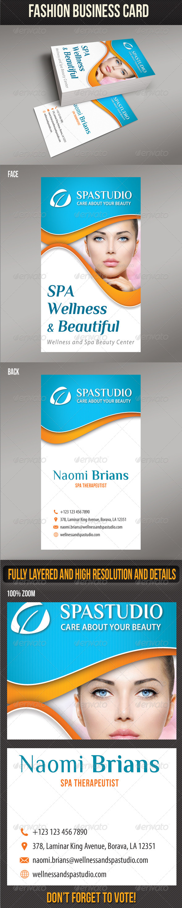 GraphicRiver Spa And Beauty Business Card 05 8250198