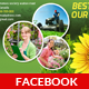 Garden Service Facebook Timeline - GraphicRiver Item for Sale