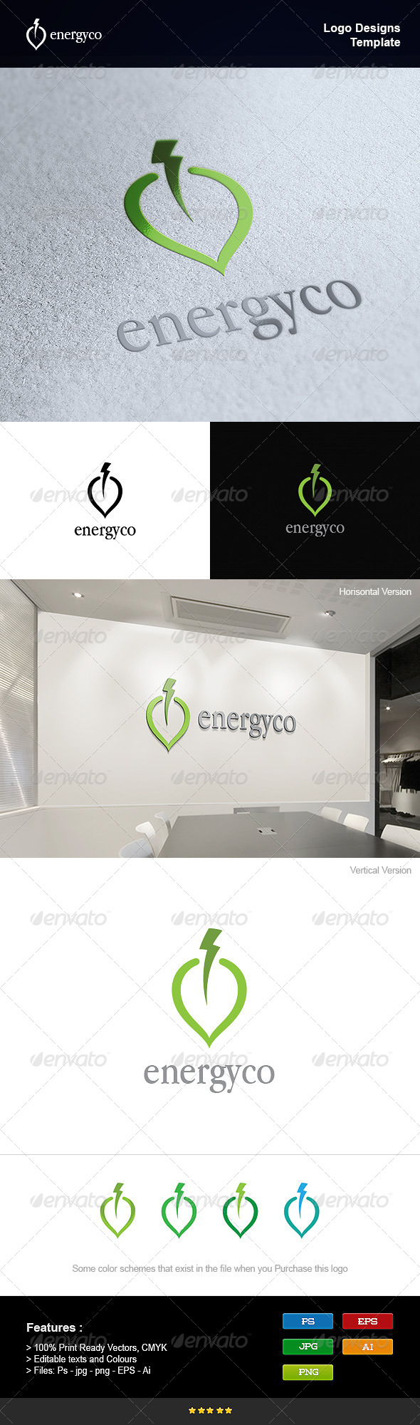 GraphicRiver Eco Power Energy 8250758