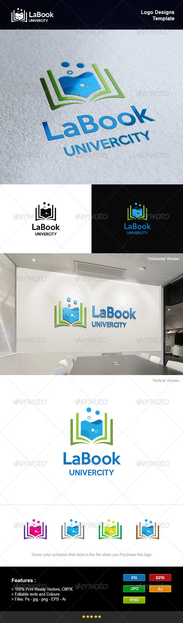 GraphicRiver Book Lab 8250798