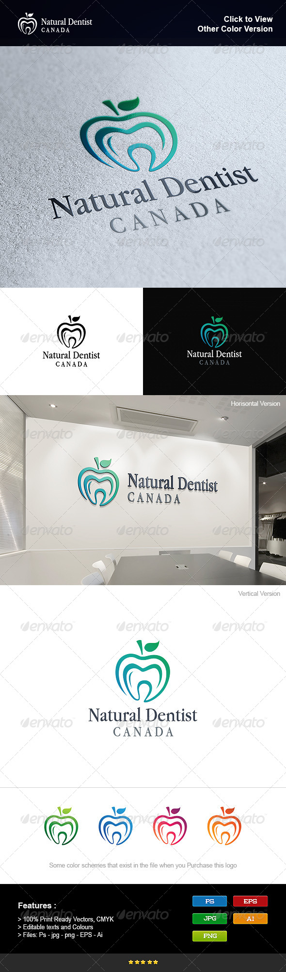 GraphicRiver Natural Dentist 8250843