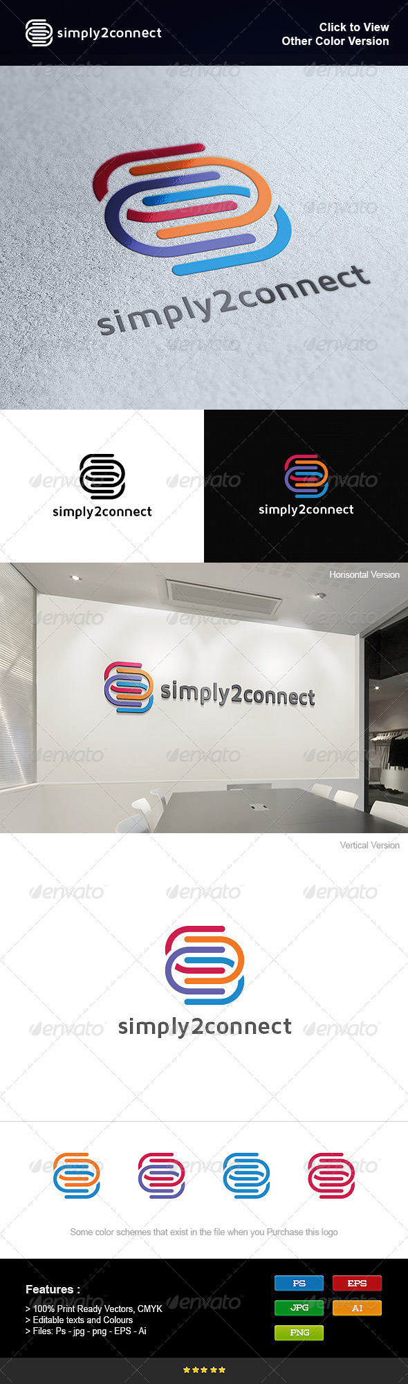 GraphicRiver Simply to Connect 8250992