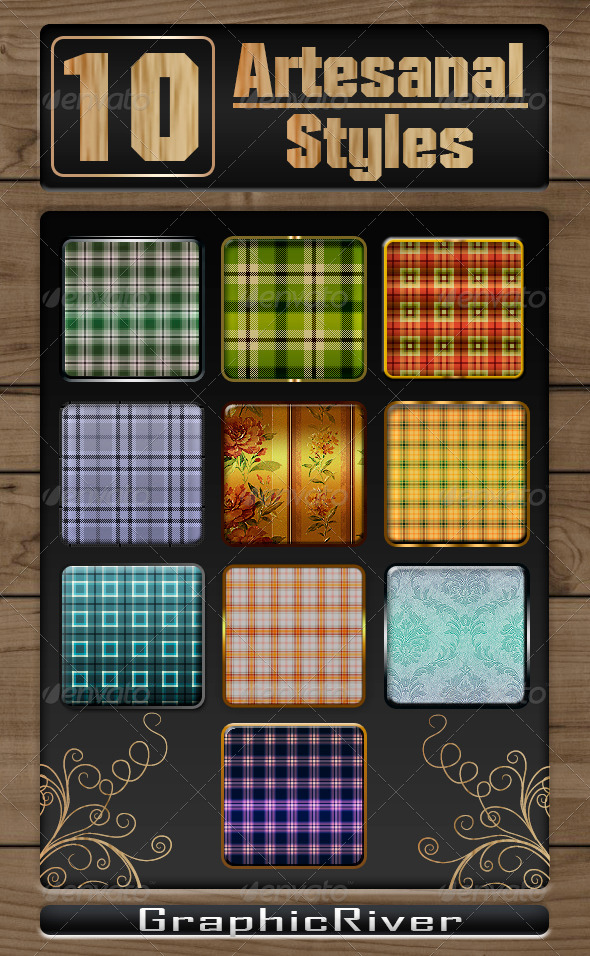 GraphicRiver Artesanal Styles 8251992
