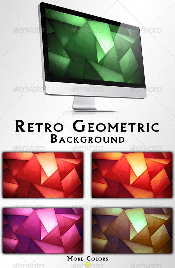 Retro Geometric Backgrounds