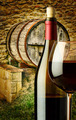Wooden barrel for wine on the farm - PhotoDune Item for Sale