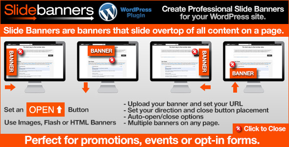 CodeCanyon Slide Banners WordPress Plugin 8252605