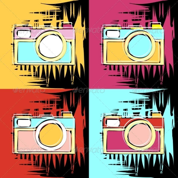 GraphicRiver Painting of Camera 8252884