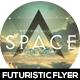 Space Futuristic Flyer Design - GraphicRiver Item for Sale