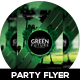 Green Party Flyer Design - GraphicRiver Item for Sale