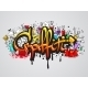 Graffiti Characters Composition Print - GraphicRiver Item for Sale