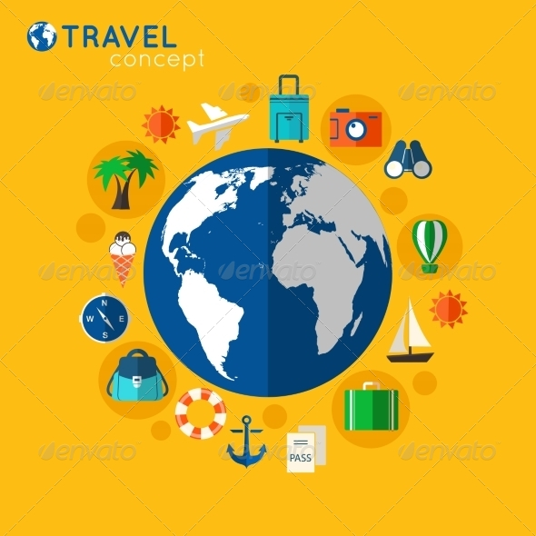 GraphicRiver Travel Concept 8254122