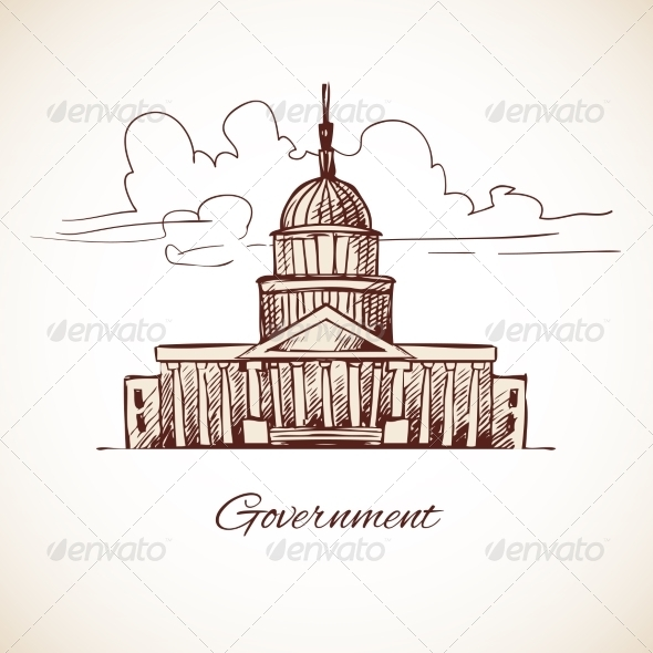 GraphicRiver Government Building 8254180