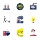 Pollution Icons Set - GraphicRiver Item for Sale