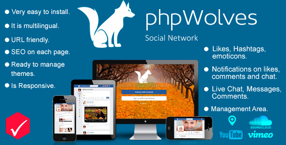 CodeCanyon phpWolves Social Networking Platform 8254433
