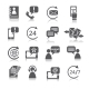 Contact Us Service Icons - GraphicRiver Item for Sale