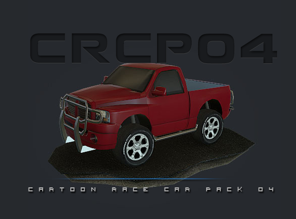 CRCP04 Cartoon Race Car Pack 04