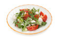 salad from arugula tomatoes and mozzarella - PhotoDune Item for Sale