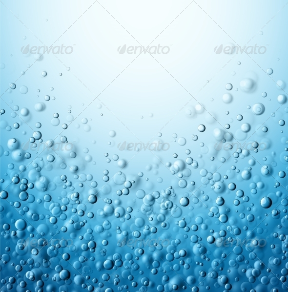 GraphicRiver Water Bubbles 8255836