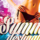 Summer Beach Flyer Vol.6 - GraphicRiver Item for Sale