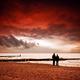 Beach at sunset - PhotoDune Item for Sale