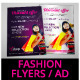 Fashion Store Promotional Flyer Template - GraphicRiver Item for Sale
