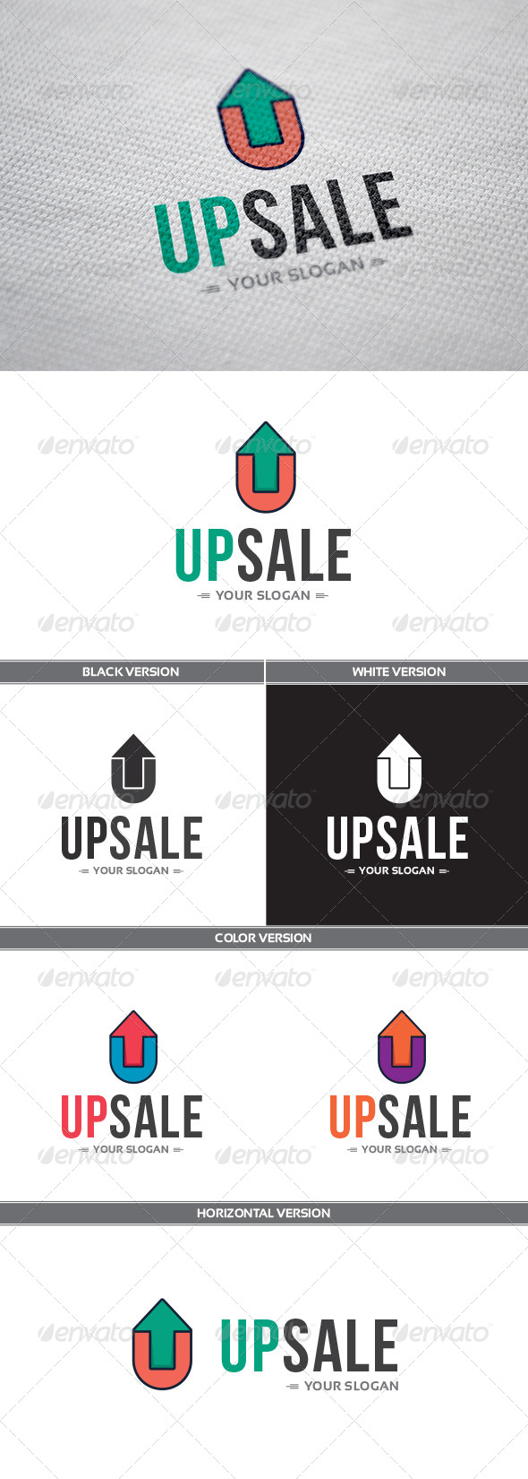 GraphicRiver UpSale Logo 8256725