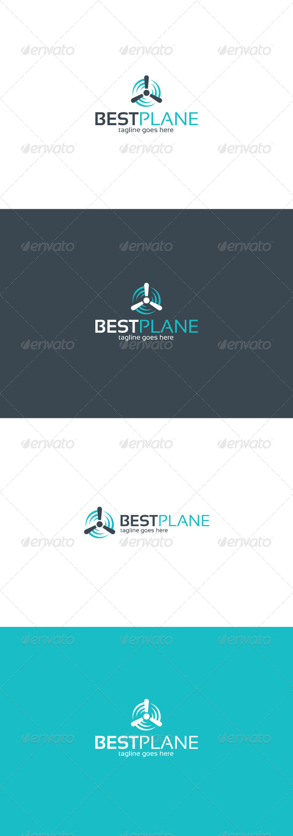 GraphicRiver Best Plane Logo 8256986