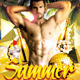 Summer Sensations party Flyer - GraphicRiver Item for Sale