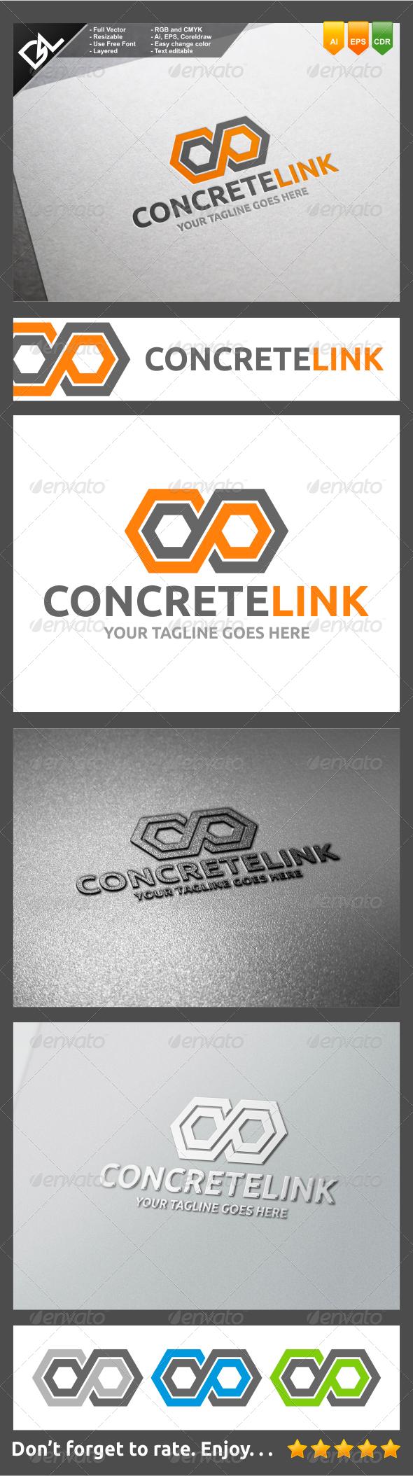 GraphicRiver Concrete Link 8257622