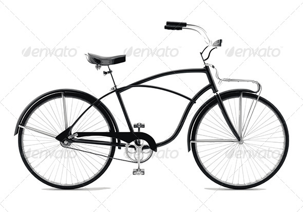 GraphicRiver Retro Bicycle 8257644