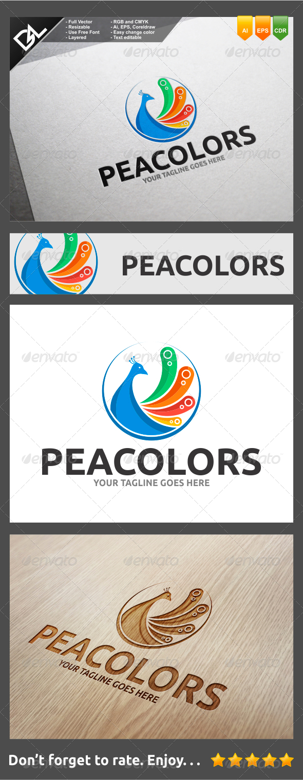 GraphicRiver Peacolors 8257741