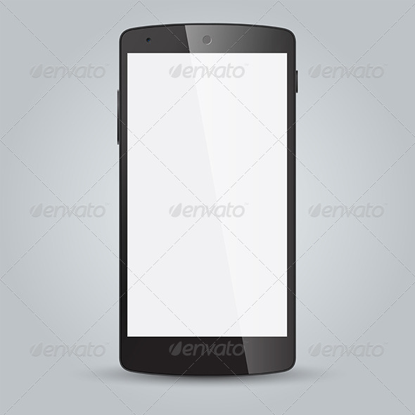 GraphicRiver Black Business Mobile Phone 8258337