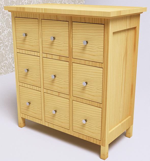 3DOcean Furniture Storage VrayC4D 8258353