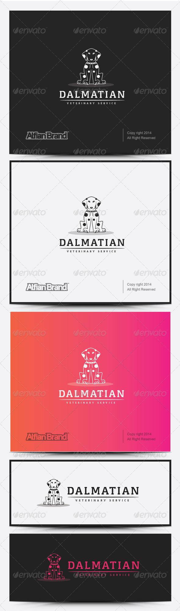 GraphicRiver Dalmatian Logo 8258457